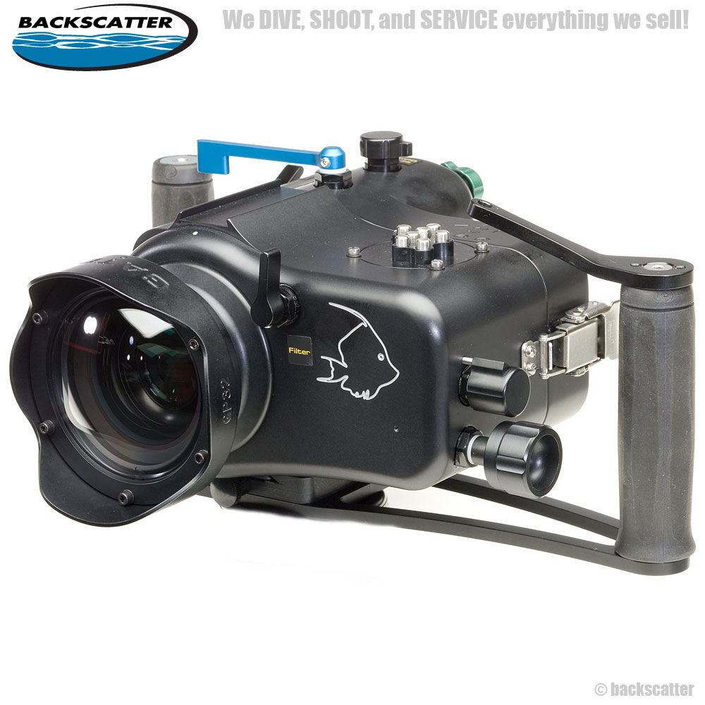 Gates Underwater Housing for the Canon HF-S20, S21, S200 & S30