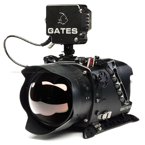 Gates DEEP SCARLET Digital Cinema Underwater Housing for the Red Scarlet