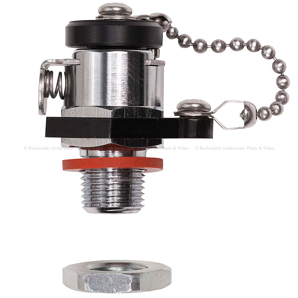 Ikelite Vacuum Valve for Control Gland 3/8 Inch Holes