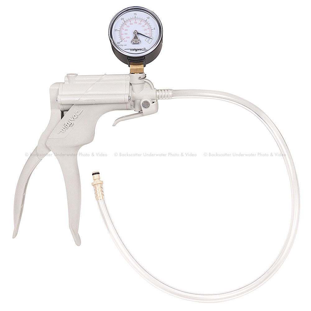 Ikelite Vacuum Pump with Gauge