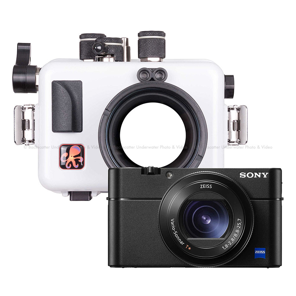 Ikelite Underwater Housing and Sony RX100 Mark V Camera Kit