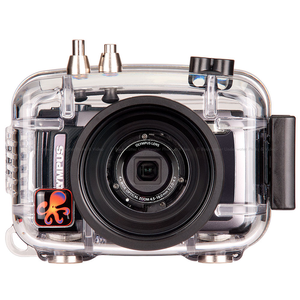 Ikelite Underwater Housing for Olympus Tough TG-1 iHS, TG-2 iHS Compact Cameras