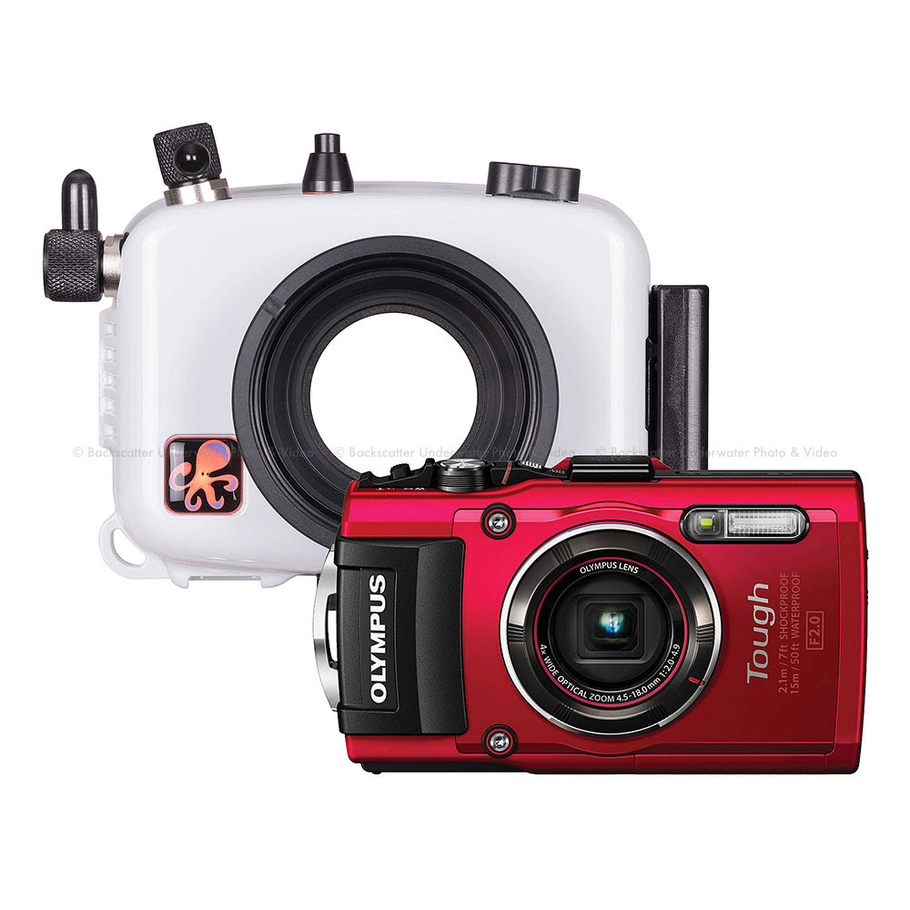 Ikelite Underwater Housing and Olympus Tough TG-4 Camera Kit
