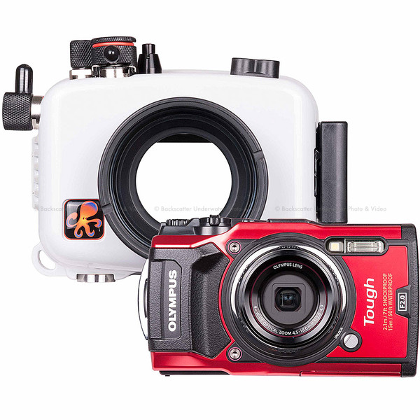 Ikelite Underwater Housing and Olympus Tough TG-5 Camera Kit
