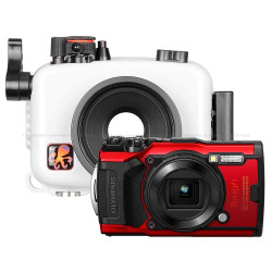 Ikelite Underwater Housing and Olympus Tough TG-6 Camera Kit