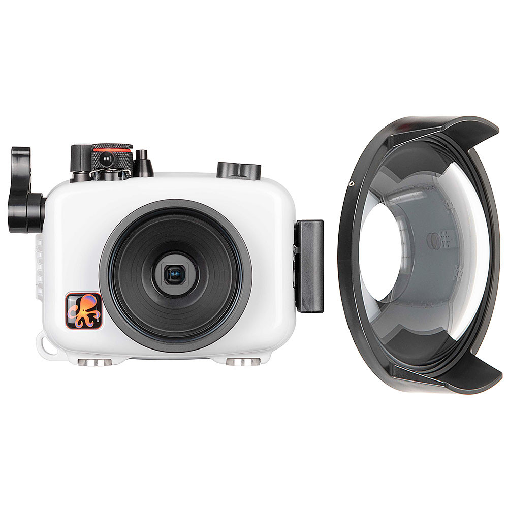 Ikelite Olympus TG-5 & TG-6 Underwater Housing with FCON-T02 Dome Port
