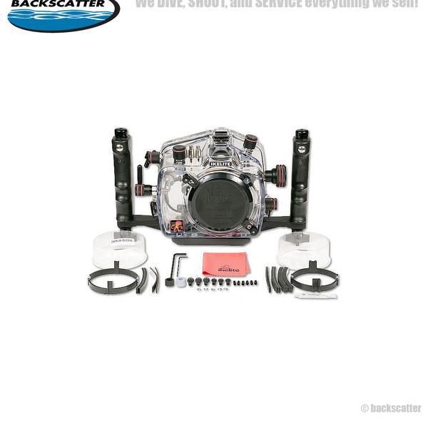 Ikelite 4-Lock Underwater Housing for Canon 60D Camera