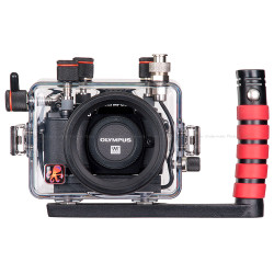 Ikelite Underwater TTL Housing for Olympus OM-D E-M10 Mirrorless Micro Four-Thirds Cameras
