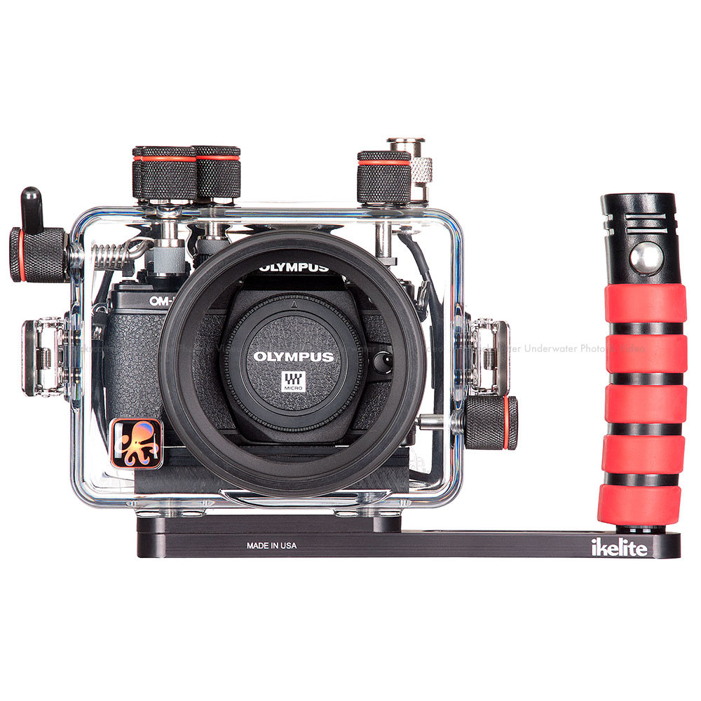 Ikelite Underwater TTL Housing for Olympus OM-D E-M10 Mark II Mirrorless Micro Four-Thirds Cameras