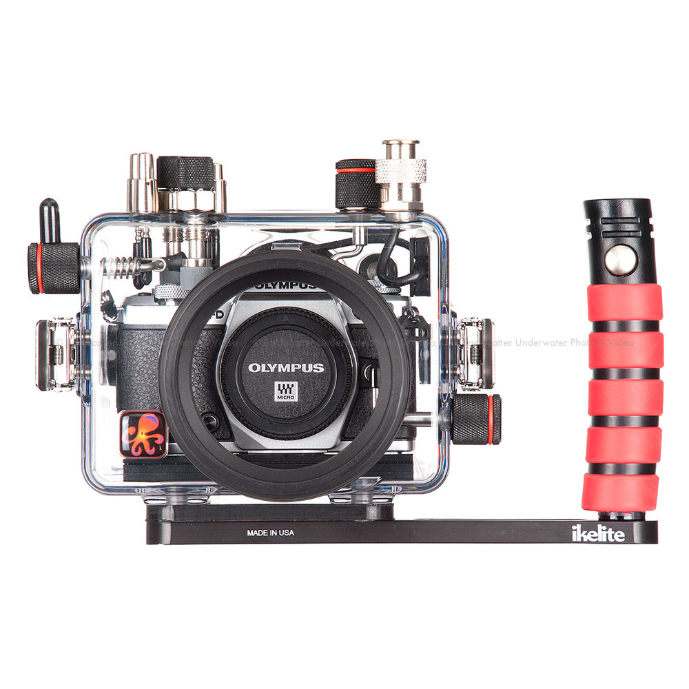 Ikelite Underwater TTL Housing for Olympus OM-D E-M5 Mark II Micro Four-Thirds Cameras