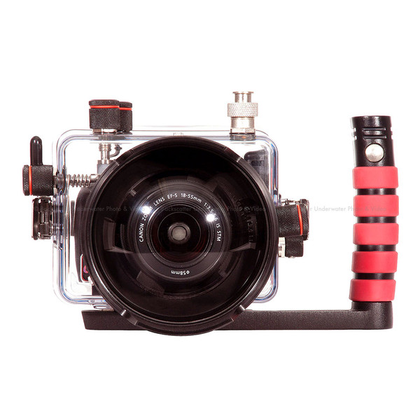 Ikelite Underwater Compact TTL Housing for Canon EOS 100D Rebel SL1 DSLR Camera