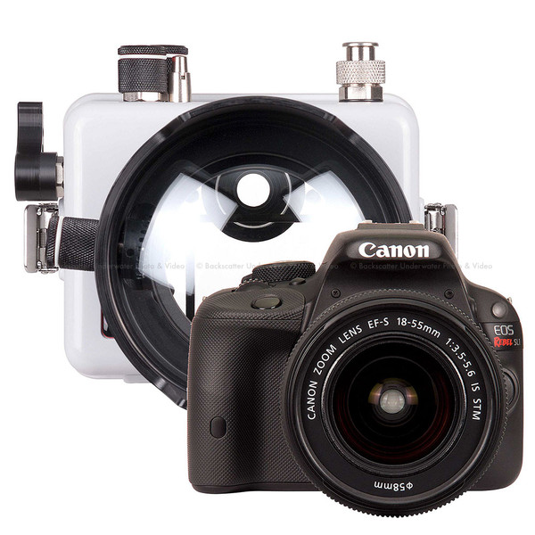 Ikelite DLM200 Underwater Housing and Canon Rebel SL1 Camera Kit