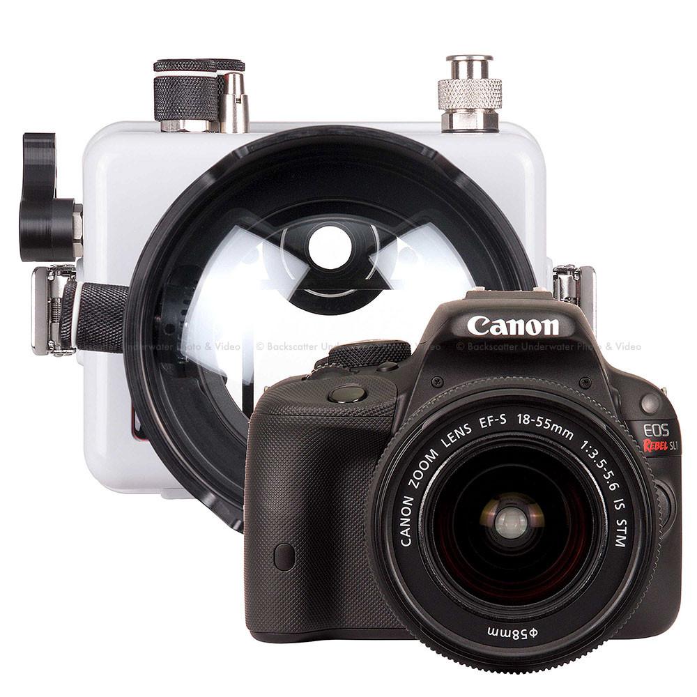 Ikelite DLM200 Underwater Housing and Canon Rebel SL1 Camera Kit