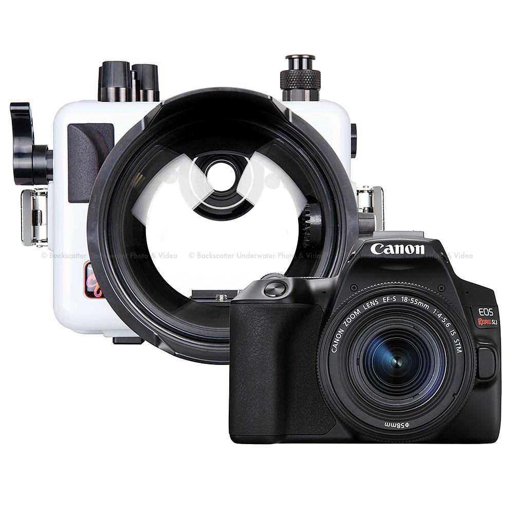 Ikelite 200DLM/C Underwater Housing and Canon Rebel SL3 Camera Kit