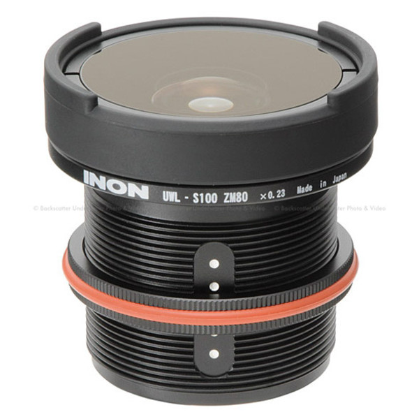 Inon UWL-S100 ZM80 M52 Underwater Wide Conversion Lens