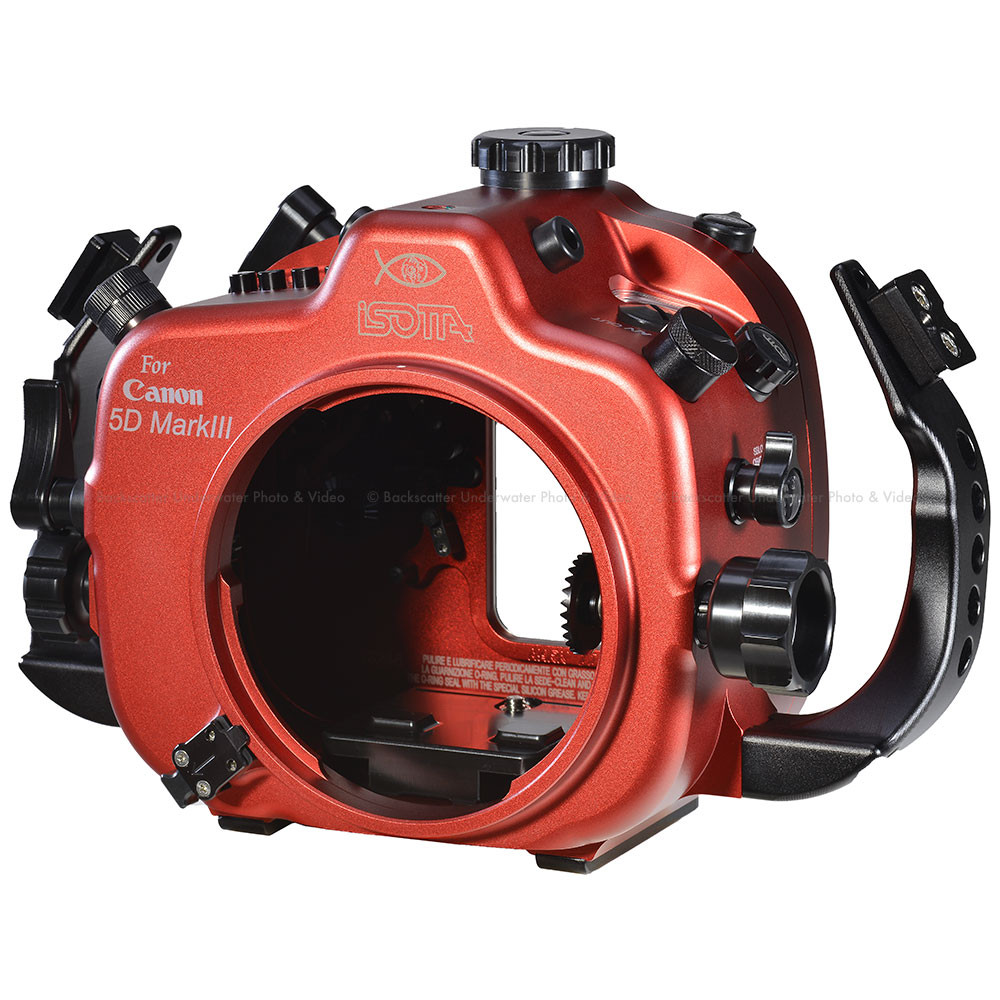 Isotta 5DIII Underwater Housing for Canon 5D Mark III, 5DS & 5DS R Cameras