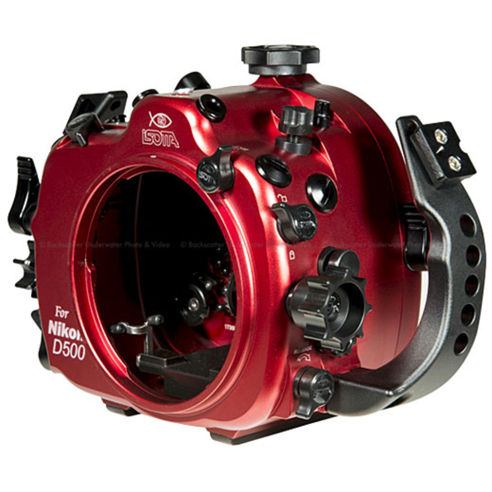 Isotta D500 Underwater Housing for Nikon D500 Camera