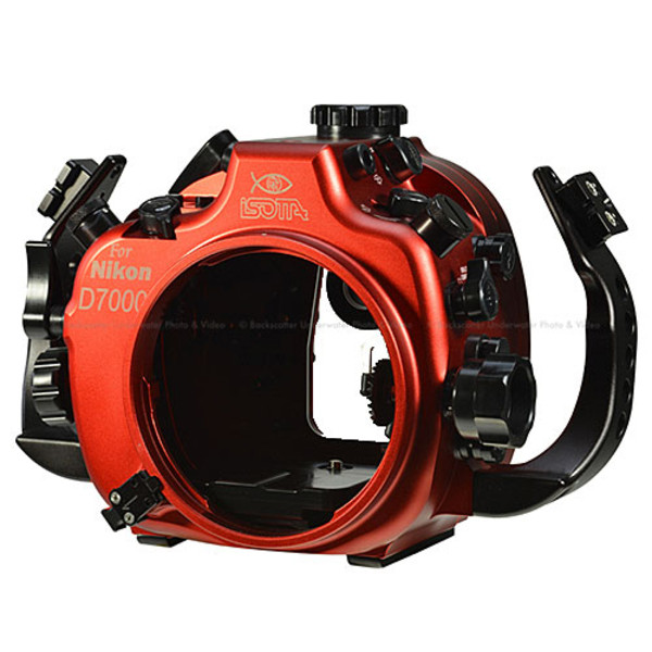 Isotta D7000 Underwater Housing for Nikon D7000 Cameras with Nikonos Bulkheads
