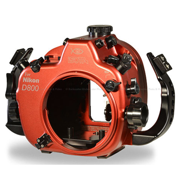 Isotta D800 Underwater Housing for Nikon D800 Cameras with Nikonos Bulkheads