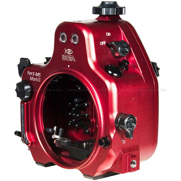 Isotta E-M5 II Underwater Housing for Olympus OM-D E-M5 II Mirrorless Camera