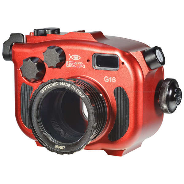 Isotta G16 Underwater Housing for Canon G16 Camera