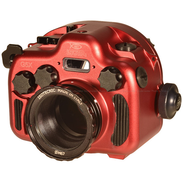 Isotta G5X Underwater Housing for Canon G5 X camera