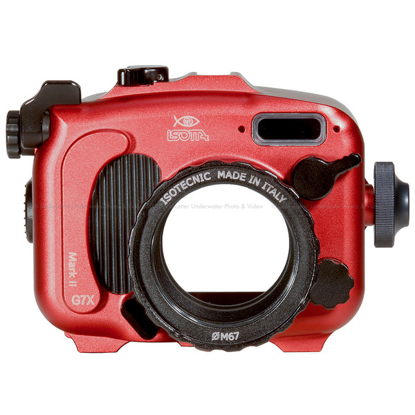 Isotta G7XII Underwater Housing for Canon G7 X Mark II Camera
