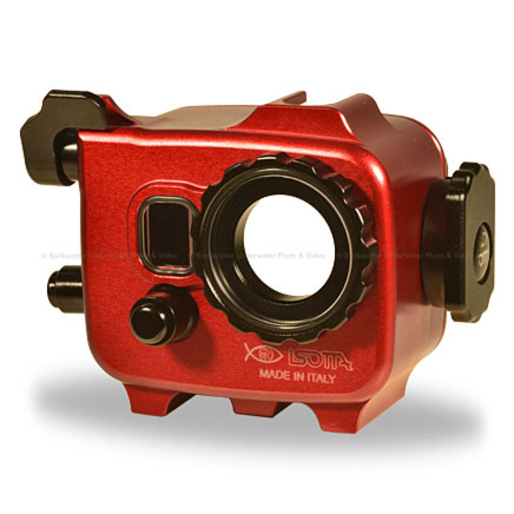 Isotta GoPro 3/4 Underwater Housing for GoPro HERO3, 3+ & 4 with LCD Back