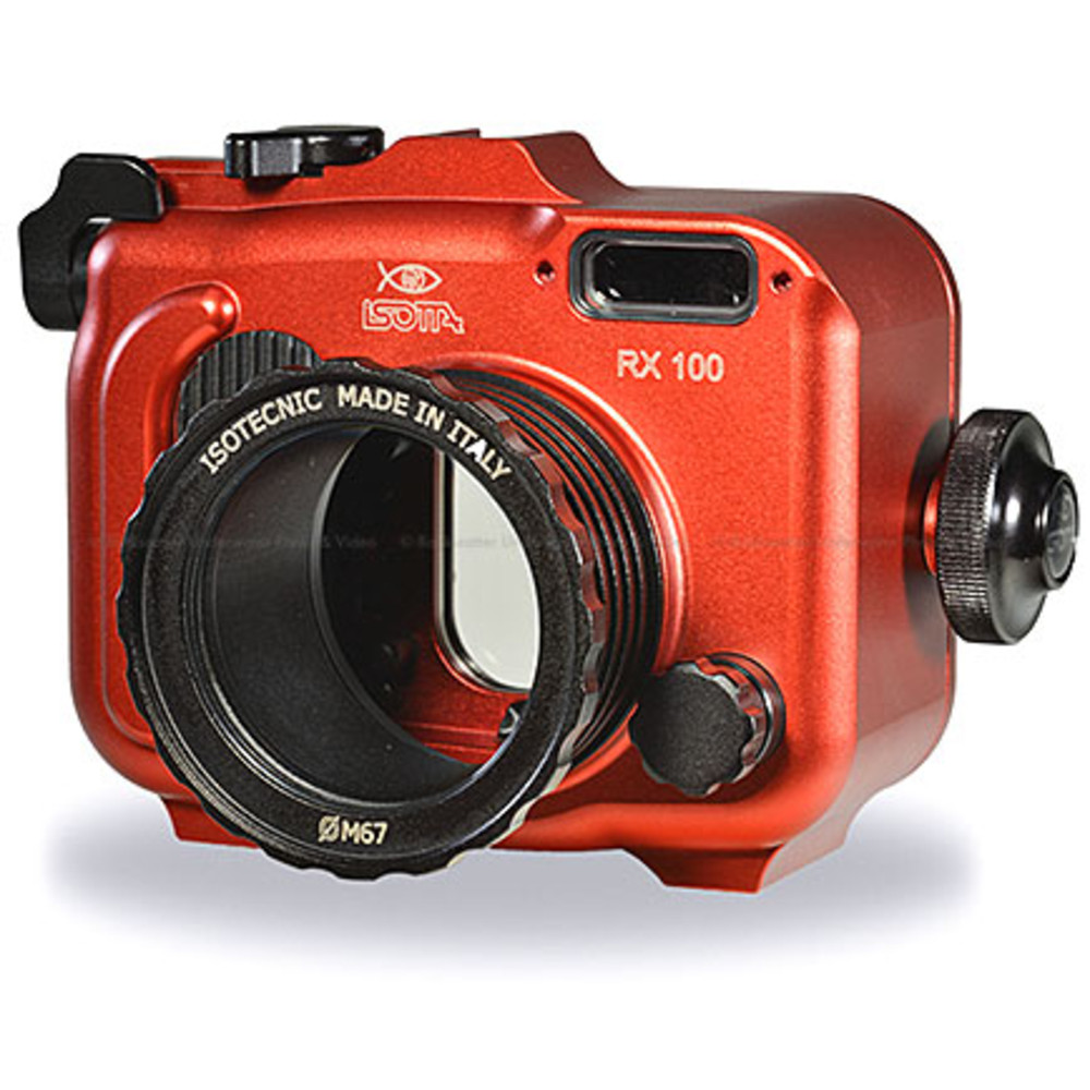 Isotta RX100 Underwater Housing for Sony RX100 Camera