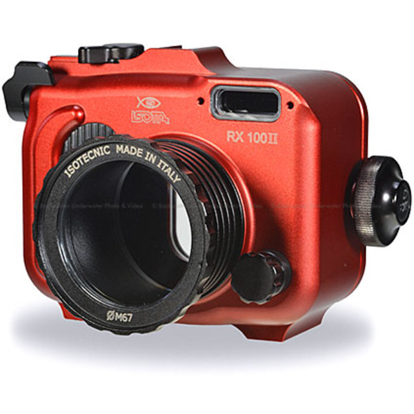 Isotta RX100II Underwater Housing for Sony RX100 Mark II Camera