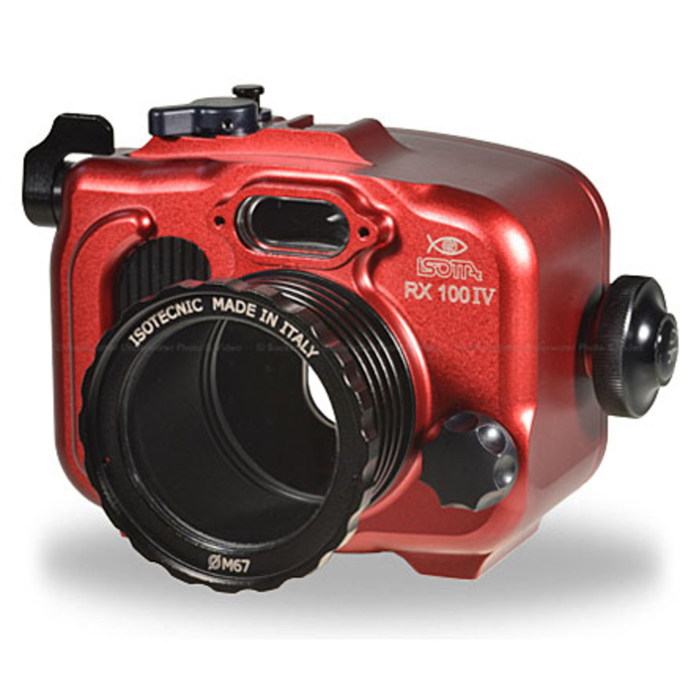 Isotta RX100IV Underwater Housing for Sony RX100 Mark IV Camera