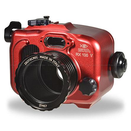 Isotta RX100V Underwater Housing for Sony RX100 Mark V Camera