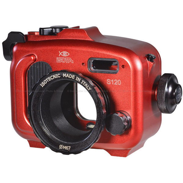 Isotta S120 Underwater Housing for Canon S120 Camera