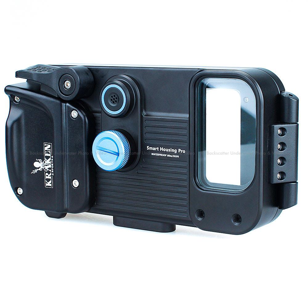 Kraken Universal Smart Phone Underwater Housing Pro with Depth & Temperature Sensor