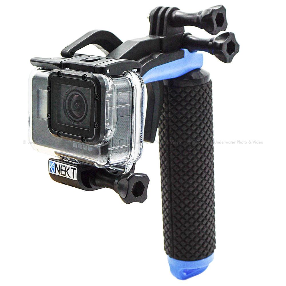 Knekt Blt1 Bluline Trigger Handle For Gopro Hero5 Hero6 Hero7 Cameras Free Acc Shorty