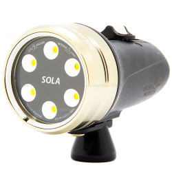 Light & Motion Sola 2000 Underwater Video Light - Flood Light Only