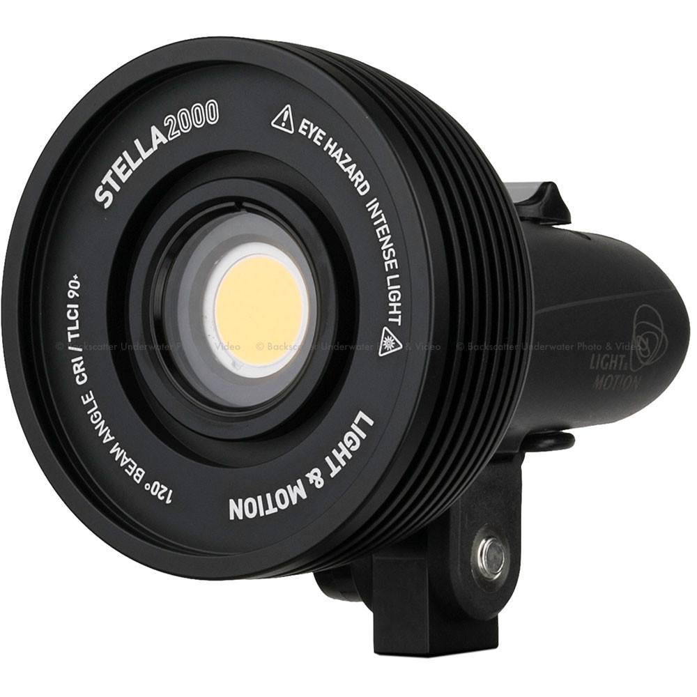 Light & Motion STELLA 2000 Underwater & Land Video Light - PSE Certified