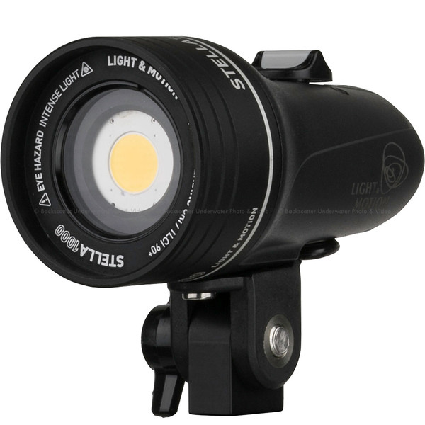 Light & Motion STELLA 1000 Underwater & Land Video Light - PSE Certified