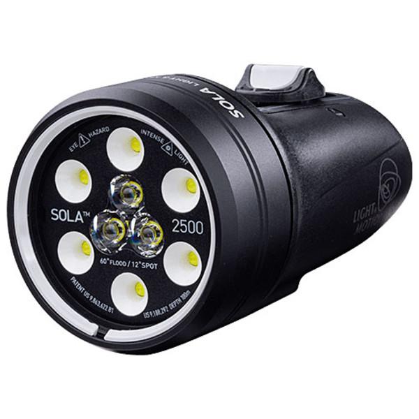 Light & Motion Sola Video 2500 Spot & Flood Underwater Video Light