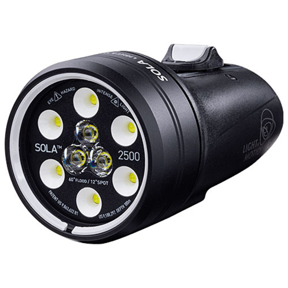 Light & Motion Sola Video 2500 Spot & Flood Underwater Video Light