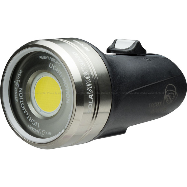Light & Motion Sola Video 3800 Flood Underwater Video Light