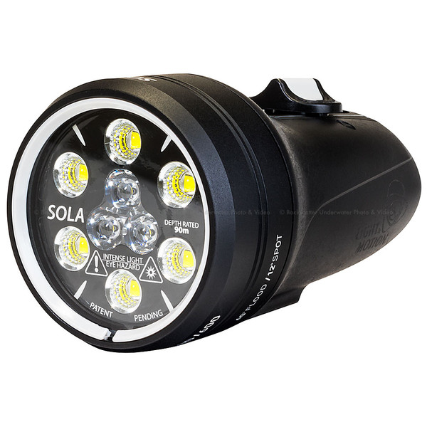 Light & Motion Sola Video 2000 S/F Underwater Video Light