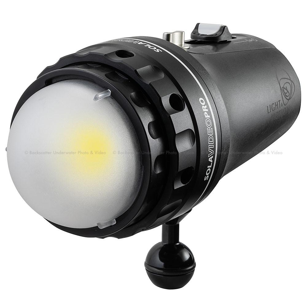 Light & Motion Sola Video Pro 12,000 Underwater Video Light