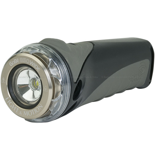 Light & Motion GoBe 850 Wide Underwater Video & Dive Light