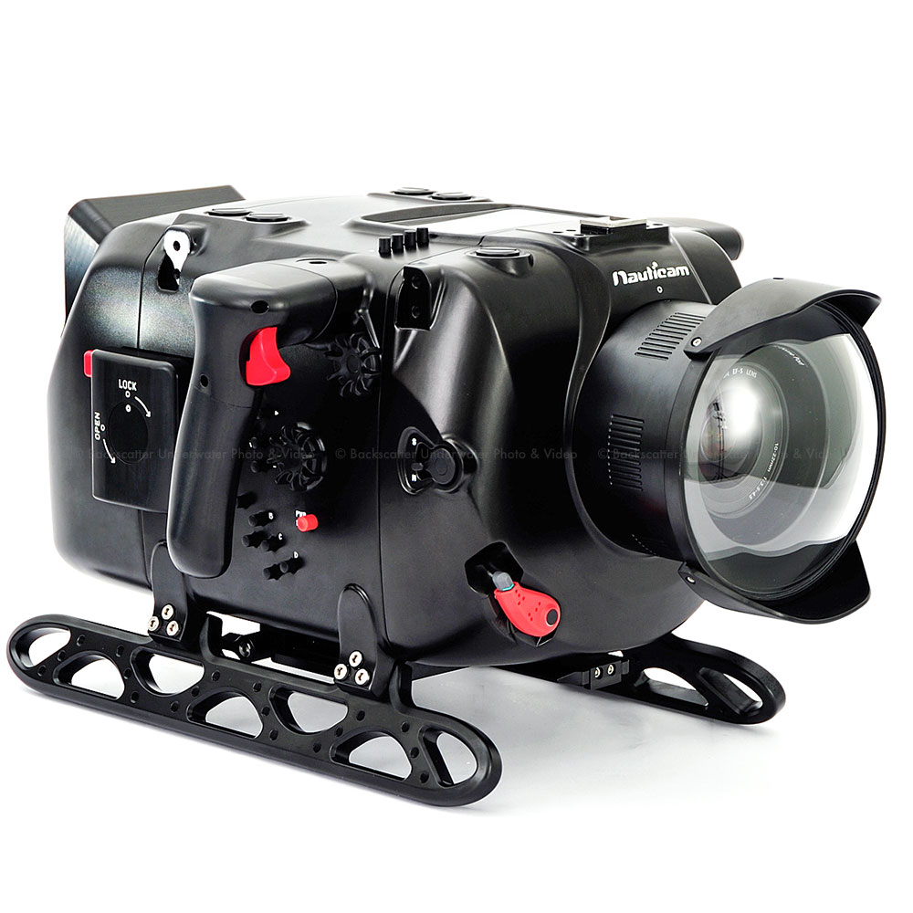 Nauticam Digital Cinema System Underwater Housing for Red Epic-X/Scarlet-X (for RED Touch 7in LCD)