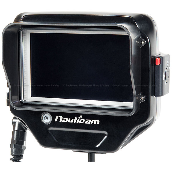 Nauticam NA-RT7 Underwater Housing for REDTOUCH 7 LCD Monitor, DSMC2 Pogo Monitor Connection