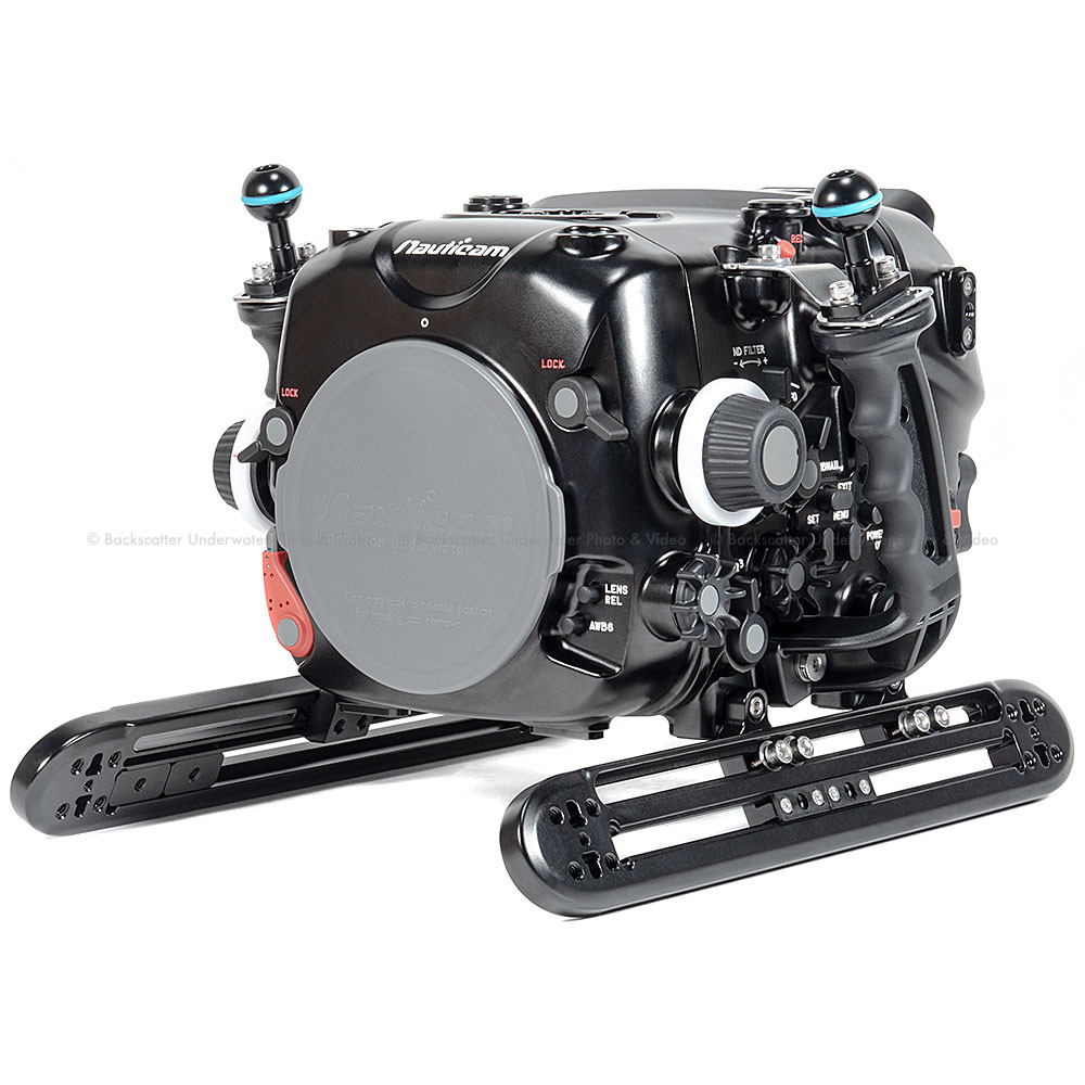 Nauticam NA-EVA1 Underwater Housing for Panasonic AU-EVA1 5.7K Super 35 Cinema Camera