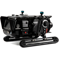 Nauticam Red Komodo 6K Underwater Cinema Housing - Shinobi Monitor Back Version