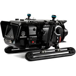 Nauticam Red Komodo 6K Underwater Cinema Housing - Shinobi Monitor Back Version