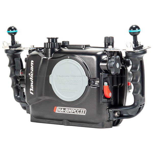 Nauticam Blackmagic Pocket Cinema Camera 4K Underwater Housing NA-BMPCCII
